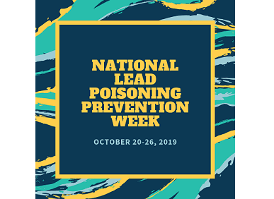 Lead Poisoning Prevention Week