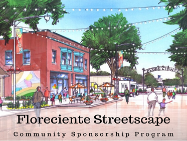 Floreciente Streetscape Community Sponsorship Program - Website