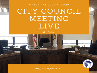 City Council Meeting Live 7.7.20