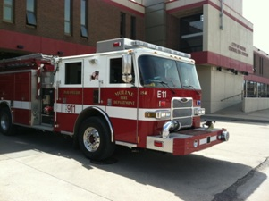 Moline Fire Dept Engine 11