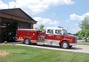 Moline Fire Dept Engine 12