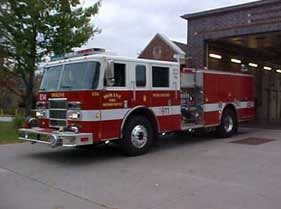 Moline Fire Dept Engine 14