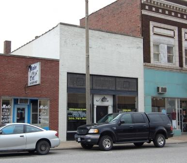 one-story commercial building in brick
