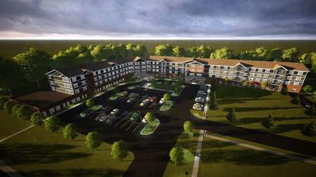 Moline Senior Living Rendering