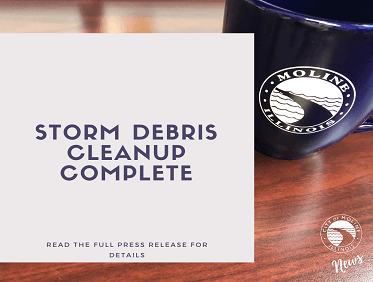 News Release - Storm Debris Cleanup Complete - Website
