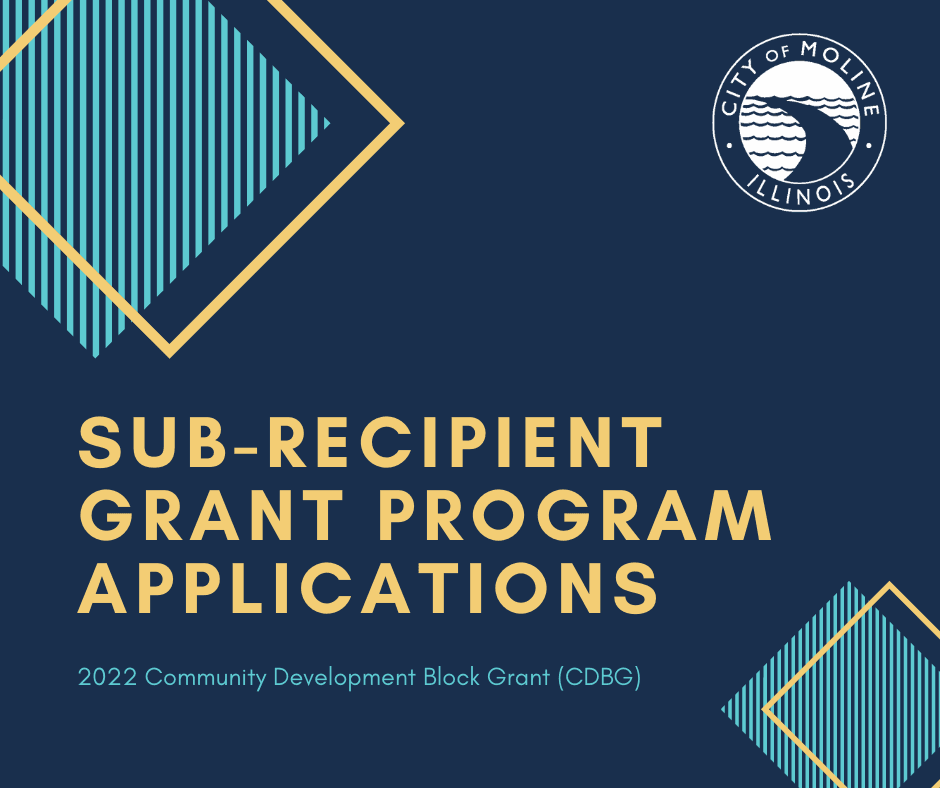 Sub-Recipient Grant Program Applications