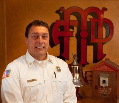 Fire Chief Jeff Snyder